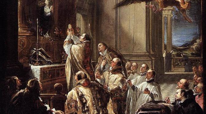 Necessidade se entender as orações e as cerimônias da Santa Missa