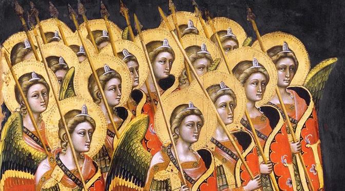 O número dos anjos