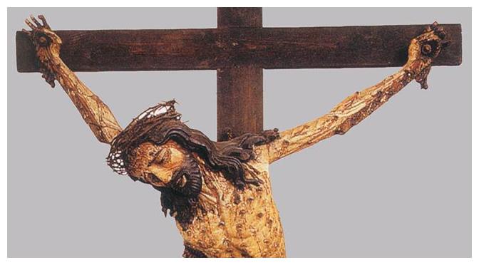 """Cristo para morrer, disse: """"Eu tenho sede"""". Não diz que tem dores, diz que tem sede. E que sede será esta?"""