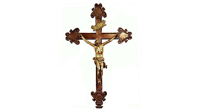 Façamos a genuflexão para a cruz