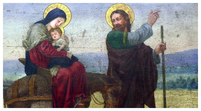 Devoção dos Sete Domingos de São José. Quinto Domingo: Fuga ao Egito