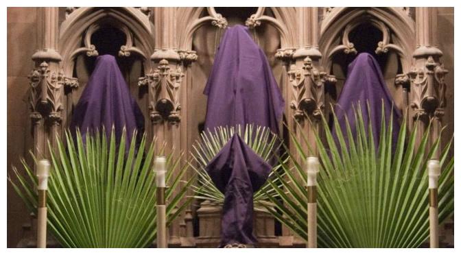 A Igreja se modifica para o primeiro domingo da Paixão