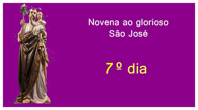 Novena ao glorioso São José – Sétimo dia