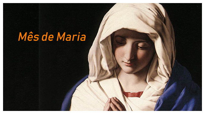 MÊS DE MARIA: Primeiro Dia – A predestinação da Santíssima Virgem