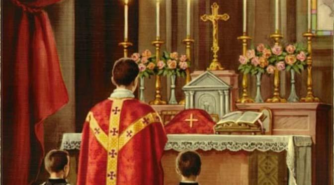 Santa Missa na festa de Santo Agostinho será celebrada por Pe. Juan Maria de Montagut, superior da FSSPX no Brasil