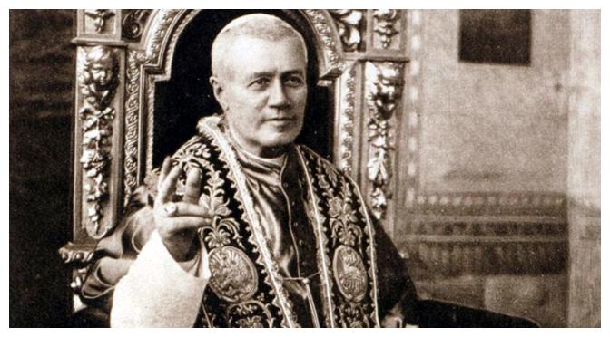 Juramento Antimodernista de São Pio X que era feito por padres, bispos e professores até ser suprimido em 1967 por Paulo VI