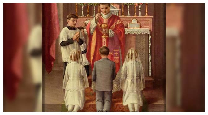 Com que idade deve a criança fazer a Primeira Comunhão? Responde-nos São Pio X
