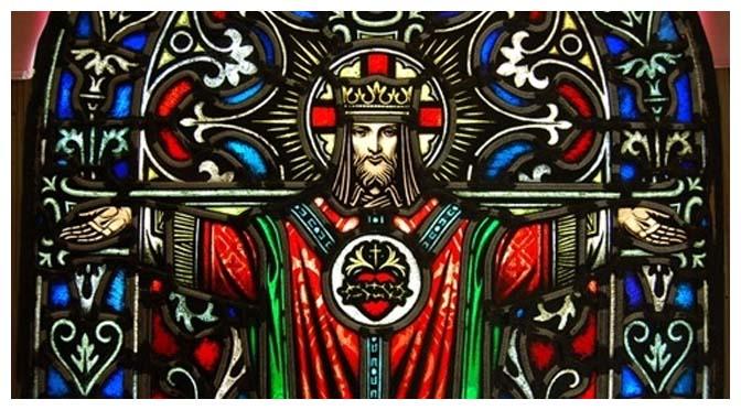 JESUS CRISTO: Rei da Igreja, Rei de todos os homens, Rei de todos os Estados